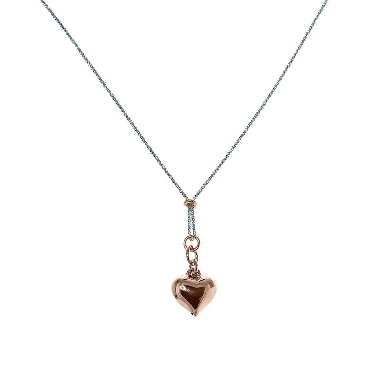 Roma Private Collection Necklaces Default Title / Silver Private Collection Heart Necklace 1150211