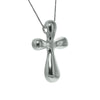 Sterling Silver Smooth Cross Pendant