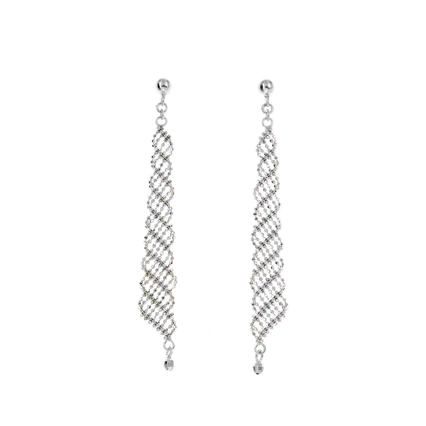 Silk Collection Mesh Earrings