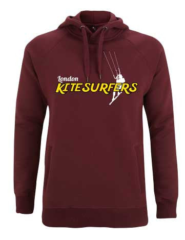 London Kitesurfers Hoodie Red