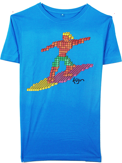 Surf Games Blue Tee