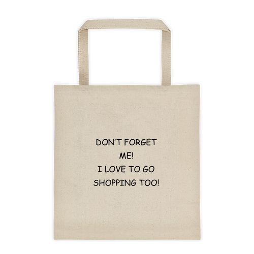 My Shopping Buddy Tote Bag