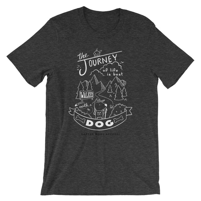 Journey Dog - Short-Sleeve Unisex T-Shirt (white)