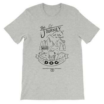 Journey Dog - Short-Sleeve Unisex T-Shirt