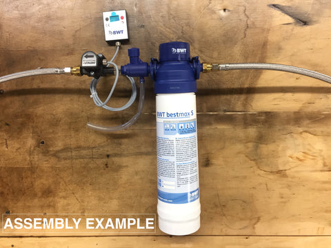 bwt water filtration assembly