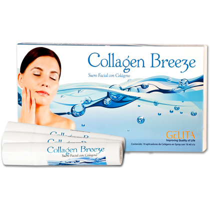 Suero facial de colágeno Gelita (Collagen Breeze)