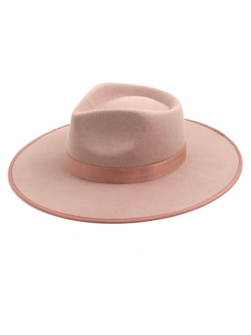 So Mauvelous Wide Brim | Fedora Hat