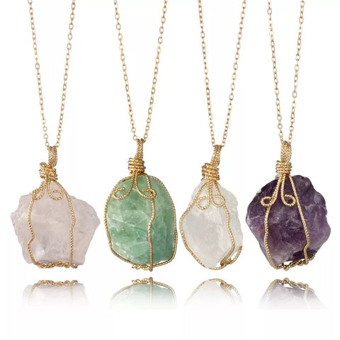Heal Me | Healing Crystal Necklaces