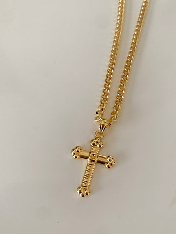 Cross The Line | Unisex Cross Necklace