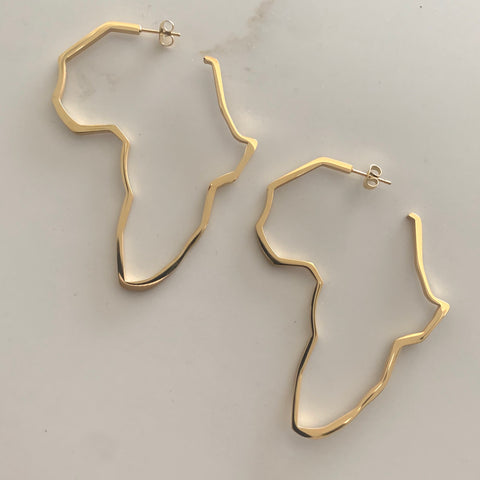 Motherland Hoop Earrings