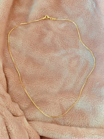 Keep It Simple | Box Chain Necklace
