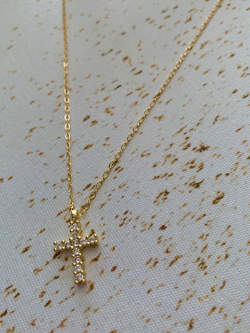 Golden Trust | Cross Necklace
