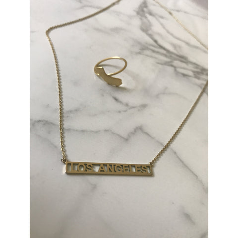 L.A Girl Bar Necklace