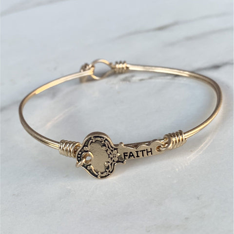 Key to Faith Bracelet
