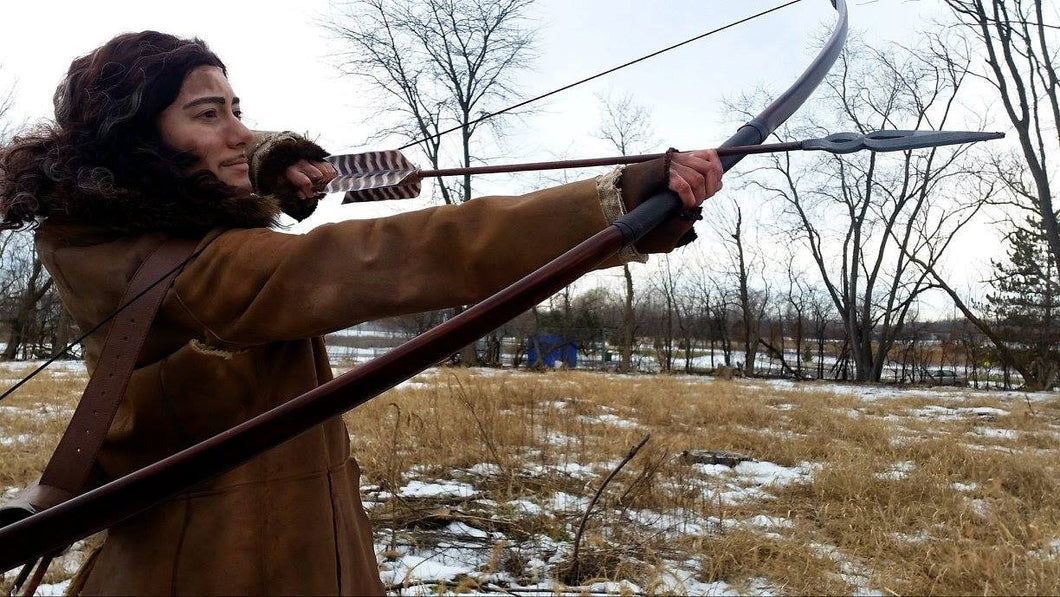 7 Ft Prop Longbow PVC Pipe Bow, Bard's Bow Replica