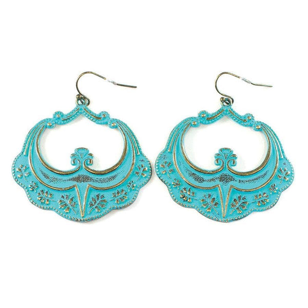Gleeful Peacock - Kismet Earrings