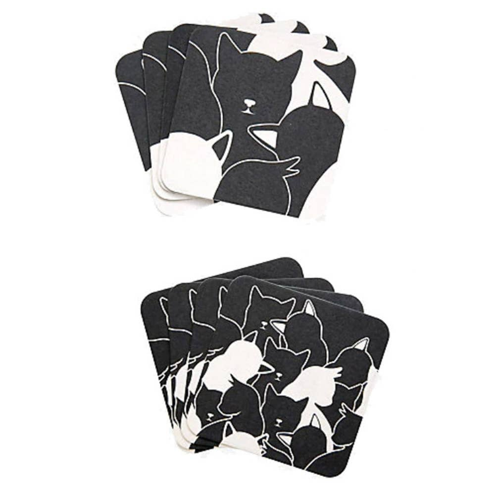 myxx - Cat Recycled Paper Coasters