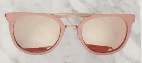 Rose Gold Sunglasses ~IN STOCK NOW
