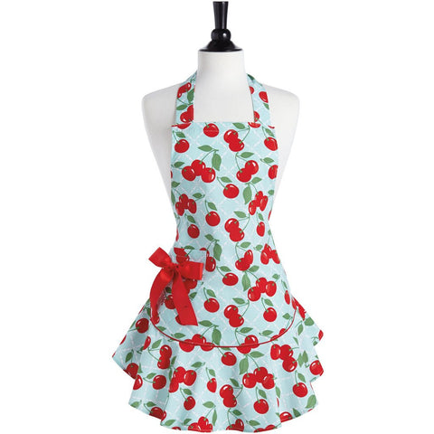 Cherry Kitchen Apron ~ Adult