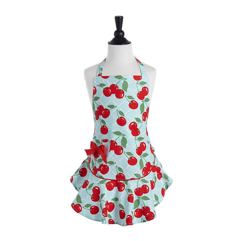Cherry Kitchen Apron ~ Kids