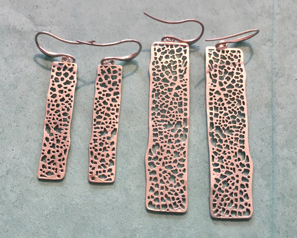 Linear Pattern Earrings