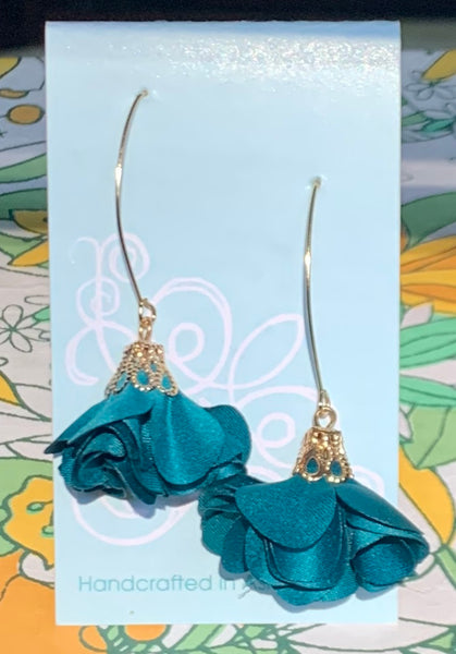 Bloom Earring by Robin's Egg Designs *LONG STYLE*