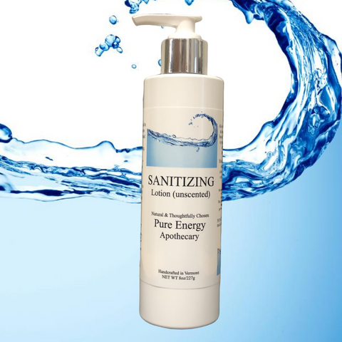 Sanitizing Hand Lotion - 8 oz (unscented)   IN STOCK NOW