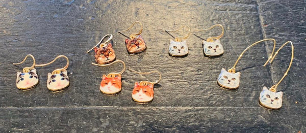 Here Kitty Kitty Earrings