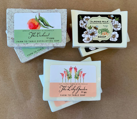 Farm To Table Soap ~Made in Asheville