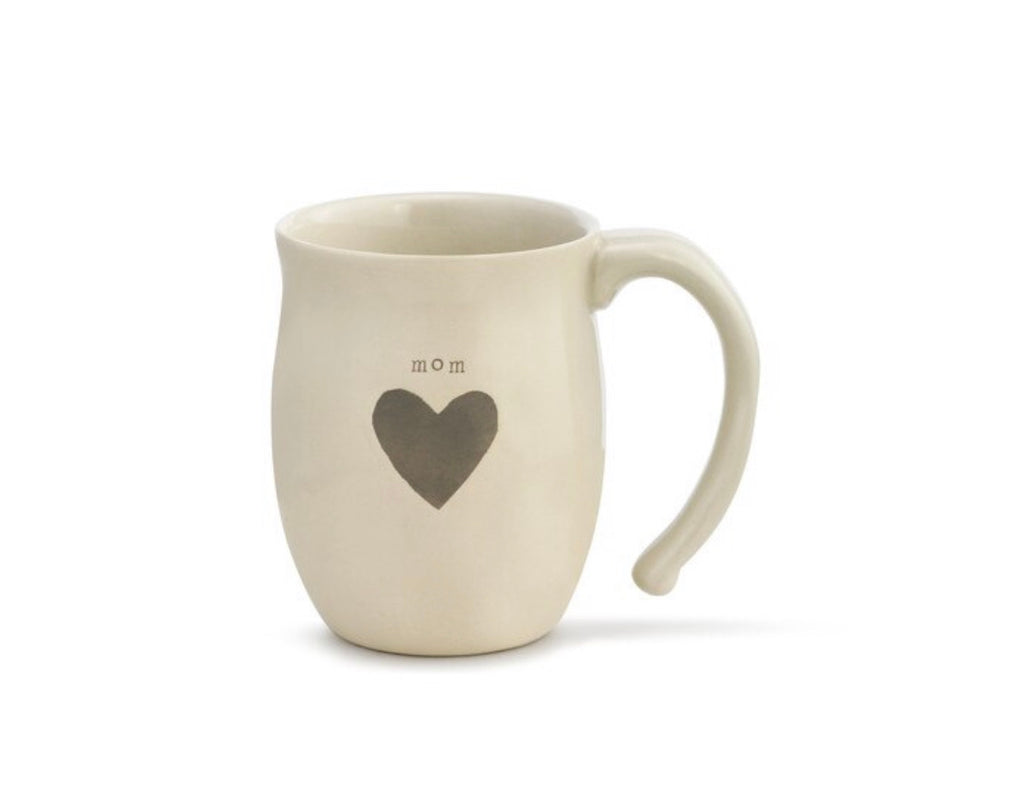 Mom- Warm Heart Collection - Mom Heart Mug
