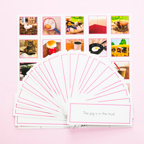 PINK PICTURE STRIP SETS