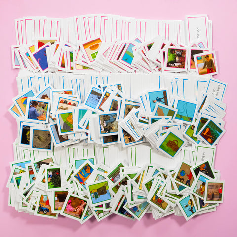 CLASSROOM-SET-A&B (100) (PICTURE CARDS)