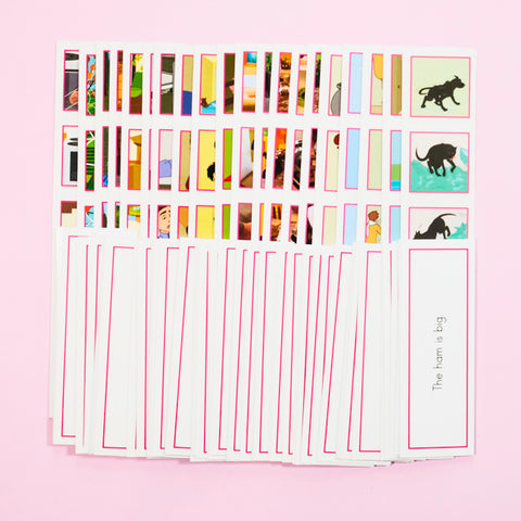 PK-PICTURE STRIPS-SET-A,B,C,D