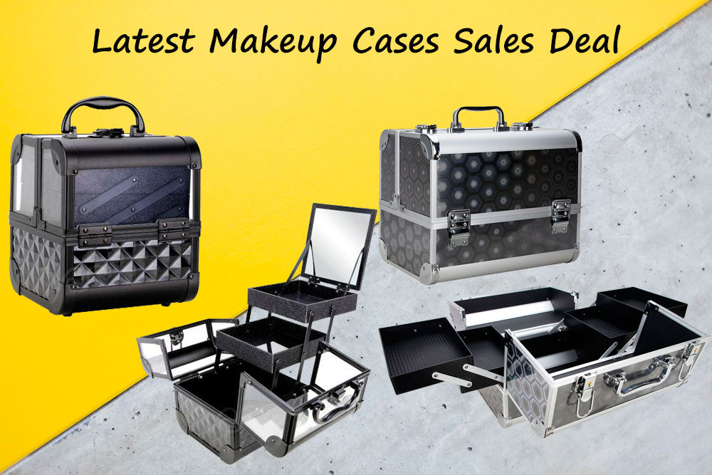 When to Check Latest Makeup Cases Sales Deal