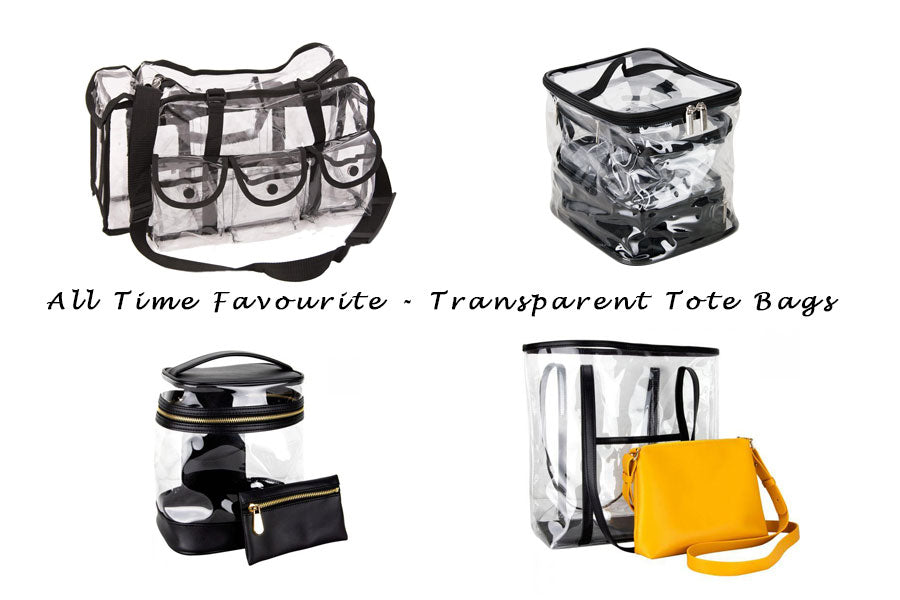 Why Transparent Tote Bags Are All Time Favourite?