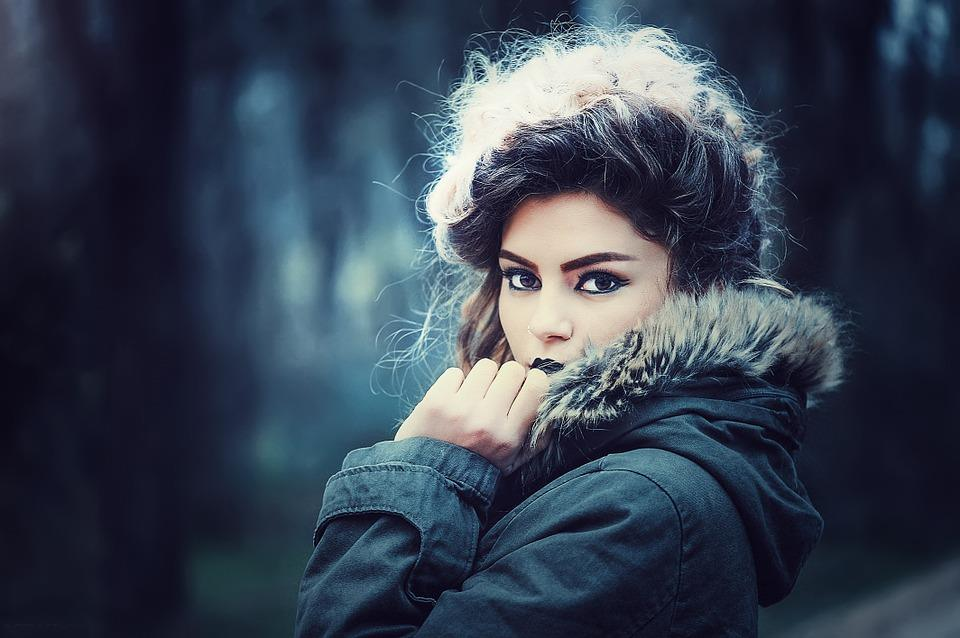 How to look beautiful during the winter