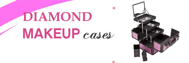 Diamond Rolling Makeup Case: The most alluring asset for makeup lovers