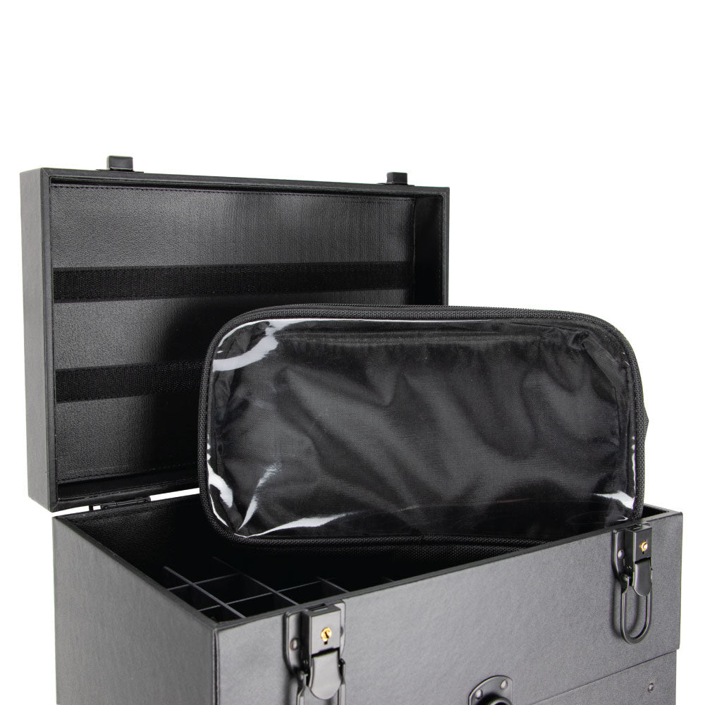 Moro Faux-Leather Rolling Makeup Case By Ver Beauty-VT015 - eBest Makeup Cases