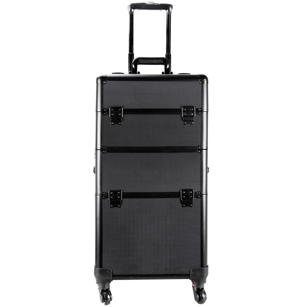 Del Carmine Rolling Makeup Case by Ver Beauty-VT013 - eBest Makeup Cases