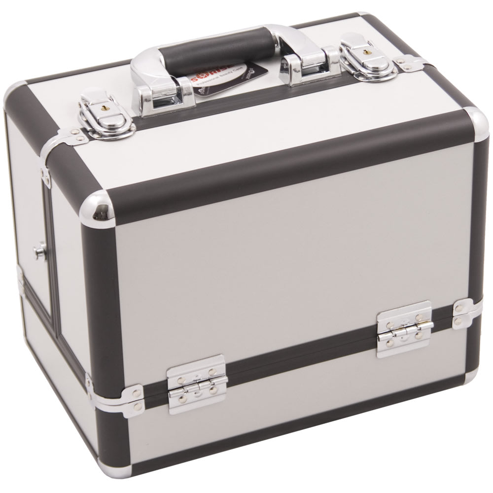 Marcello 3-Tier Train Makeup Case by Sunrise-C3002 - eBest Makeup Cases