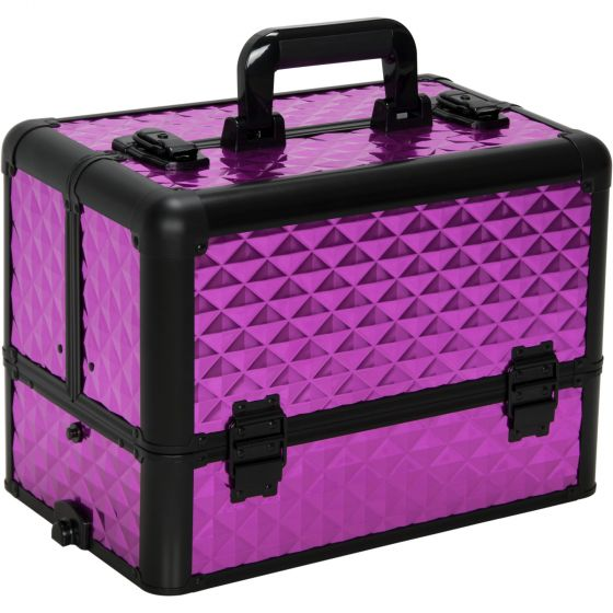 Dona 3-Tier Train Makeup Case by Sunset-E3304 - eBest Makeup Cases