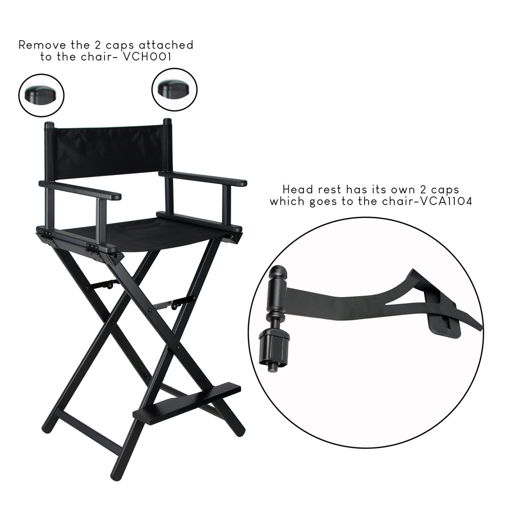 Teatro Head Rest for Aluminum Chair by Ver Beauty-VCA1104 - eBest Makeup Cases