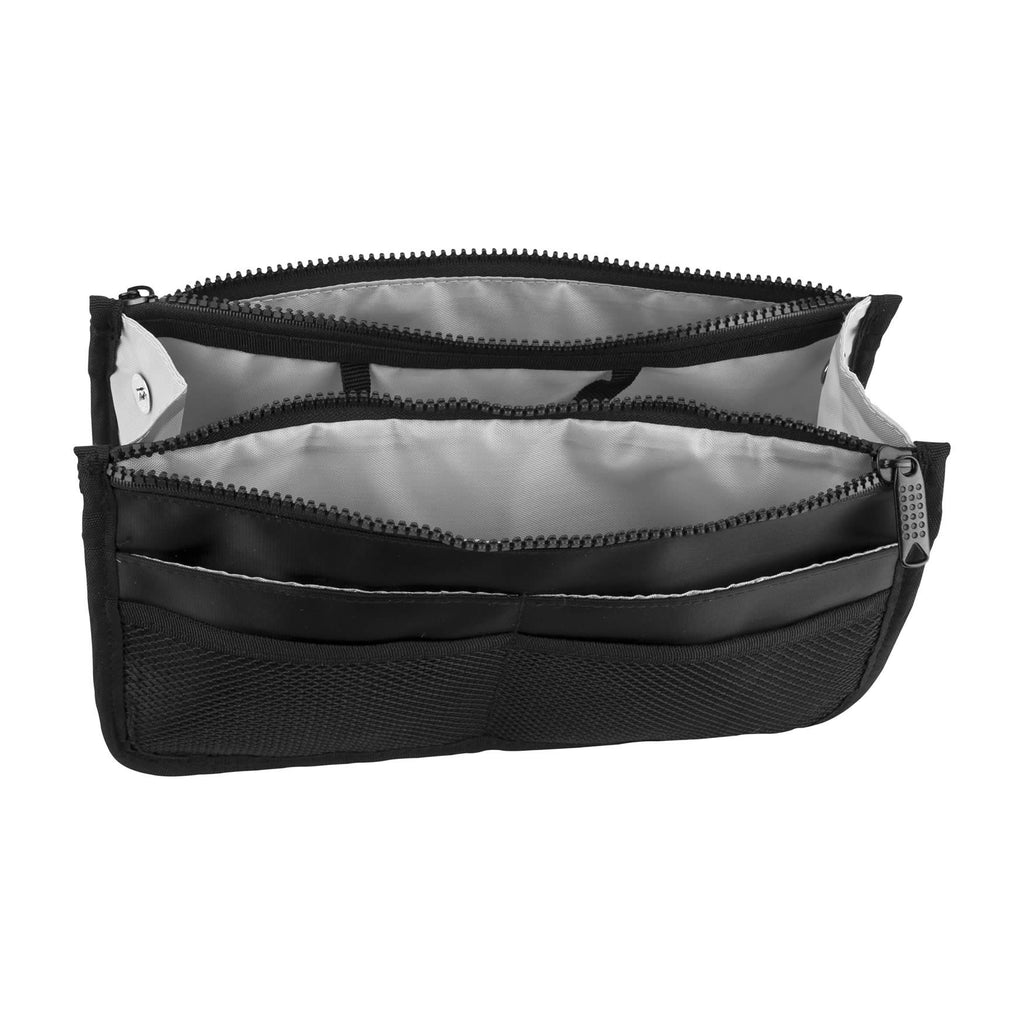 Foscolo Black-Nylon Makeup Bag by Casemetic-PC05 - eBest Makeup Cases