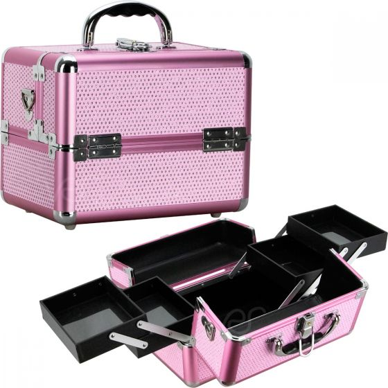 Pantalon Train Makeup Case by Sunrise-VK004 - eBest Makeup Cases