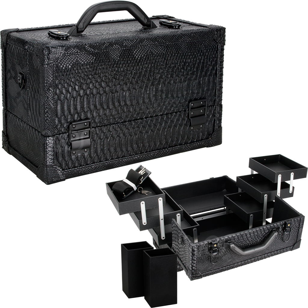 Rucella Train Makeup Case by Ver Beauty-VK3201 - eBest Makeup Cases