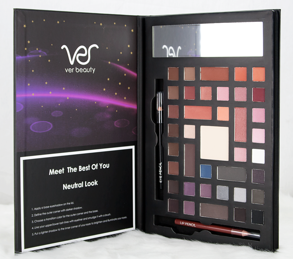 Beauty Book by Ver Beauty-VMP1415 - eBest Makeup Cases