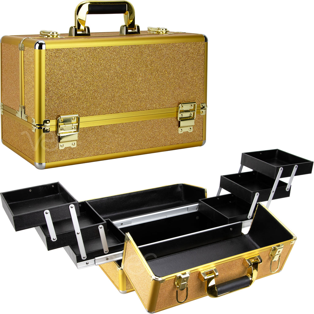 Vicolo Train Makeup Case by Ver Beauty-VP002