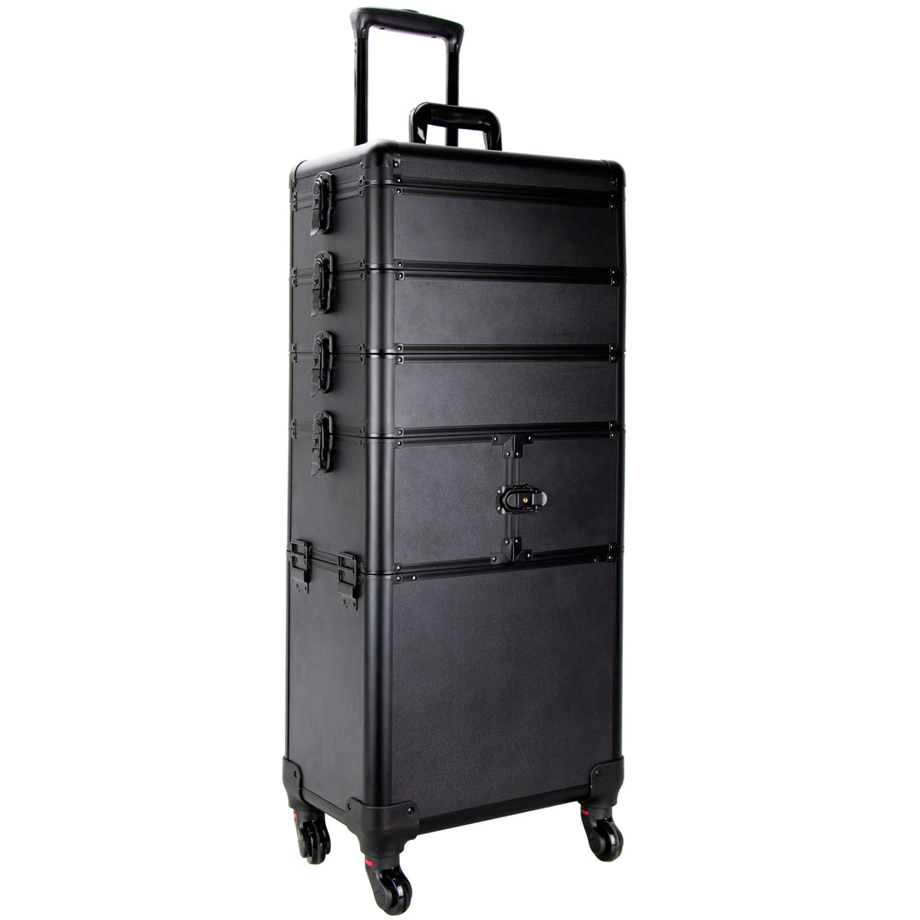 Della Chiesa Rolling Makeup Case by Ver Beauty - eBest Makeup Cases