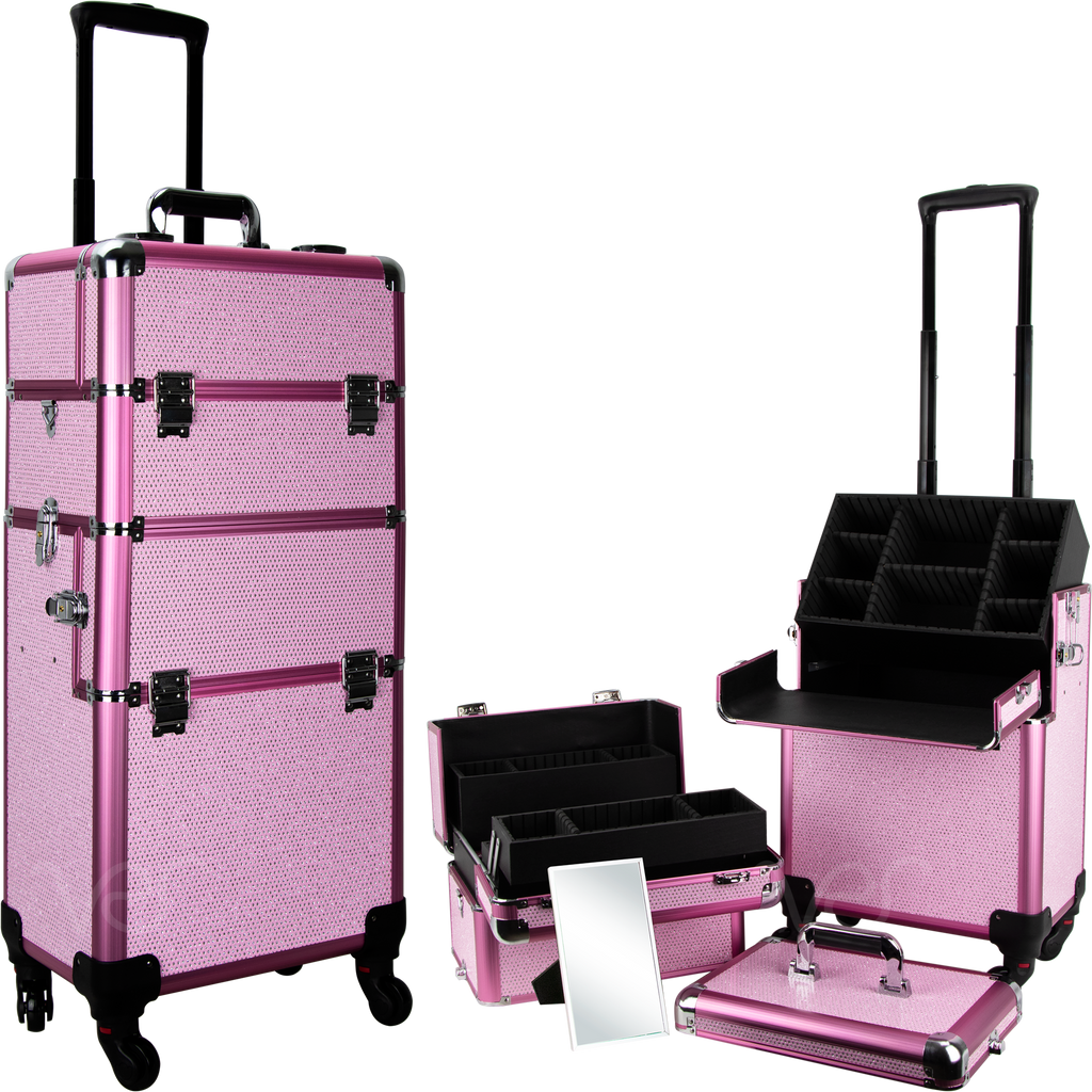 Fossi Rolling Case by Ver Beauty-VT002 - eBest Makeup Cases