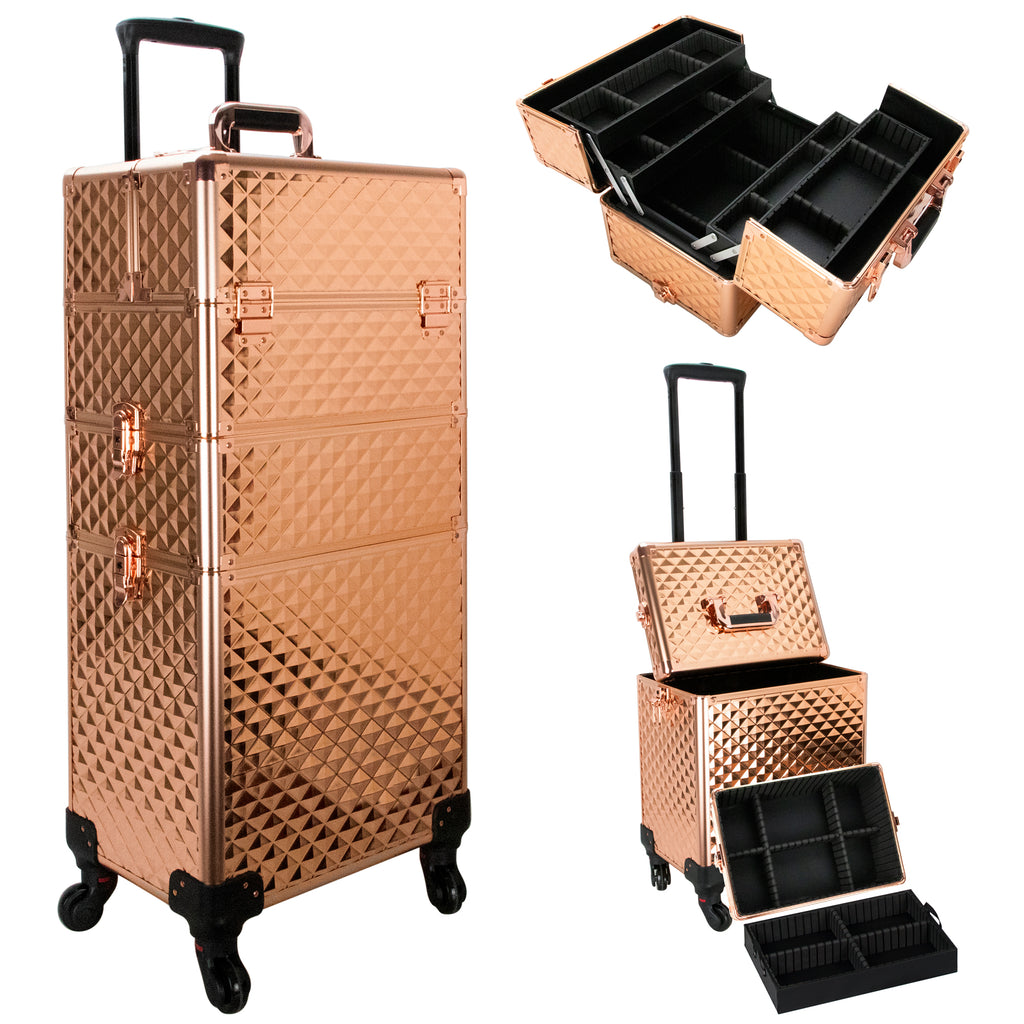 Terme Rolling Makeup Case by Ver Beauty-VR6506 - eBest Makeup Cases